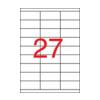 APLI APLI uni. 70x30mm 2700db/cs | Általános etikettek