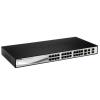 D-Link NET D-LINK DES-1210-28 24x100Mbps Smart Switch + 2 combo 1000BaseT/SFP + 2 Gigabit