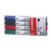STABILO Táblamarker készlet, 2,5-3,5 mm, kúpos, STABILO