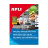 APLI APLI uni. 105x148mm kerekített 400db/cs | Eltávolítható etikettek