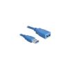 DELOCK USB3.0-A 2m Hosszabbító (male/female) (82539)