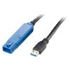 LogiLink USB 3.0 ismétlő kábel, 10 m