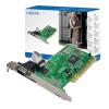 LogiLink PCI Multi I/O vezérlő kártya,1 soros port