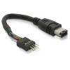 DELOCK FireWire A – pinheader kábel