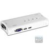 Trendnet TK-407K 4 portos USB2.0 KVM switch