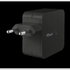 Trust 19158 Wall Charger with 2 USB ports - 2x12W