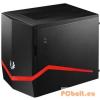 """Bitfenix Colossus M Black (Red/Blue/Green LED) Black,1x5,25"""",5x3,5"""",ITX,Mini-ITX,Audio,Táp nélkül,250x330x374mm,8x2,5"""",2xUSB3.0"""