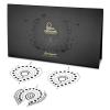 Bijoux Indiscrets 3 részes intim ékszer szett - fekete/ezüst