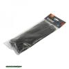 kábelkötegelő 4,8×300mm 100db, fekete nylon;