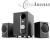 ACME Hangszóró, 2.1, 6W, fa testű, ACME SS209
