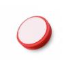 Tépőzáras piros polírozó korong extrafinom 80x25