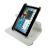 4world Galaxy Tab 2 7.0 tartó fehér Rotary (09112)