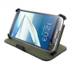 4world Galaxy Note 2 tok Stand fekete (09132)