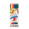 ICO Színes ceruza készlet, hatszögletű, hajlékony,
