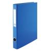 VICTORIA Gyűrűs könyv, 4 gyűrű, 35 mm, A4, PP/karton, , kék