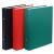 DONAU Gyűrűs könyv, 2 gyűrű, 30 mm, A5, PP/karton, , fekete