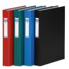 DONAU Gyűrűs könyv, 2 gyűrű, 40 mm, A4, PP/karton, , piros