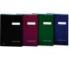 DONAU Aláírókönyv, A4, 19 elválasztó lappal, karton, , fekete aláírókönyv
