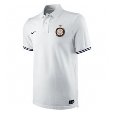 Nike INTER AUTHENTIC SS GS POLO WHITE - S