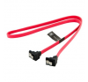 4world HDD Cable   SATA 3   SATA   60cm   right   latching   red kábel és adapter