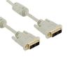 4world Monitor kábel  DVI-D (24 +1) - DVI-D (24 +1) M / M 1.8m  DL ferrite - Ret