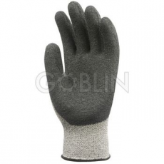 Euro Protection 5-ös vágásálló, kopásbiztos, rugalmas Taeki® kesztyû, kondenzált fekete latex tenyér