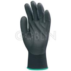 Euro Protection Ninja poliamid kesztyû, habosított fekete PVC tenyér, Hydropellent vízlepergetõ