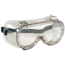 Lux Optical® Labolux védõszemüveg, páramentes, vegyszerálló polikarbonát, szellõzõ nyílásokkal