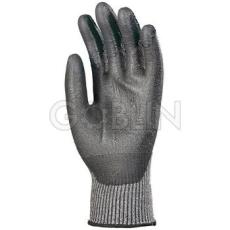 Euro Protection 5-ös szinten vágásálló, kopásbiztos Taeki5® védõkesztyû fekete PU mártással, i-touch...