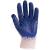 Euro Protection Kék latex duplaszálas kertészkesztyû, kötött cérnakesztyûre mártva, méret: 10