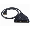 AVS intelligens HDMI Switch 3x1