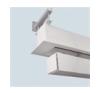 MWSCREEN MW Screen Fal/mennyezeti távtartó 30 cm (pár) vetítővászon