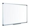Fehértábla, zománcozott, matt, 120x240 cm, alumínium keret VICTORIA felírótábla