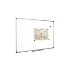 Fehértábla, mágneses, 90x180 cm, alumínium keret felírótábla