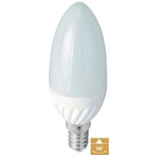 Led gyertya égő, 3W, 180 Lumen, E14 foglalattal, meleg fehér Life Light Led ÚJ! villanyszerelés