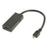 Valueline MHL - HDMI adapter fekete