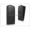 Haffner Slim Flexi Flip bőrtok - Sony Xperia E1 (D2005) - fekete