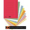 Regiszter, karton, A4, DONAU, vegyes színek (D8610V)