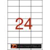 Etikett, univerzális, 70x37 mm, APLI, 240 etikett/csomag (LCA12923)