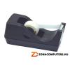Ragasztószalag-adagoló, asztali, DONAU, fekete (D7886) ragasztószalag