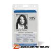 Azonosítókártya tartó, műanyag, függőleges, 61x104 mm, 3L (3L11310)