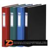 Gyűrűs könyv, 4 gyűrű, 40 mm, A4, PP/karton, DONAU, fekete (D3735FK)