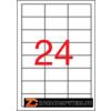 Etikett, univerzális, 64,6x33,8 mm, APLI, 2400 etikett/csomag (LCA3131)