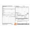 Nyomtatvány, kiküldetési utasítás és költségelszámolás , 25x2, A4, VITORIA