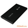 "LogiLink 2,5"" SATA USB 2.0 Aluminium Black"
