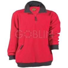 Coverguard ANGARA piros bebújós pulóver, mikro-polár