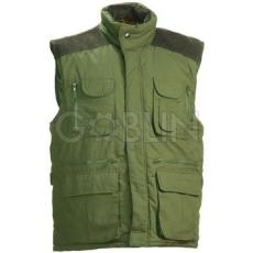 Coverguard BRESSAN vadászmellény, zöld, sokzsebes, erõsített vállú