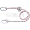 Cado® 1,8 m-es, állítható hosszúságú mh-beállító, körszövött kikötõkötél, ?10 mm + 2...