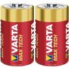Varta Babyelem alkáli mangán Varta Max Tech LR14 1.5 V, 2 db