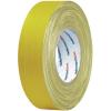 HellermannTyton Öntapadós textilszalag (H x Sz) 50 m x 19 mm, sárga pamut-, polieszterszövet HTAPE-TEX-YE-19x50 HellermannTyton, tartalom: 1 tekercs